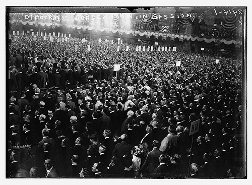 Demo. Convention in session (LOC)